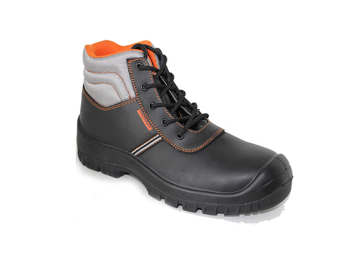 split action leather steel toe cap fashion safety sheos work shoes