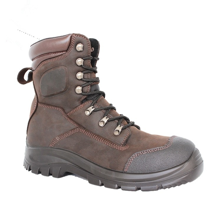 Comfortable easy to wear high cut with steel toe cap hunting boots